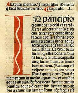 Latin nyelvű Biblia