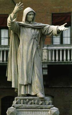 Savonarola szobra