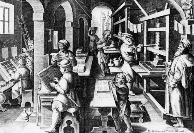 16. századi nyomdászok