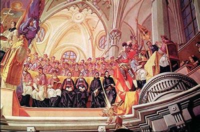 A tridenti zsinat ülésezik