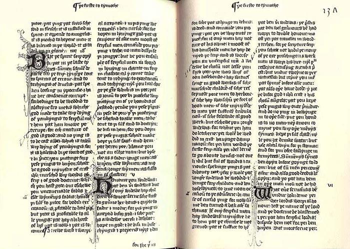 Wyclif Újszövetség-fordítása