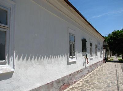A vizsolyi nyomda épülete