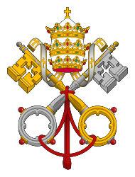 a pápaság emblémája
