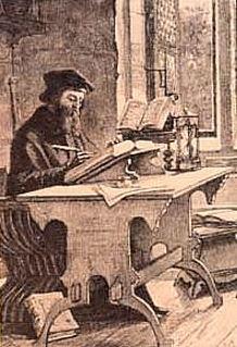 Wiclif Bibliát fordít