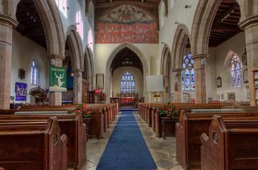 Lutterworth temploma belülről