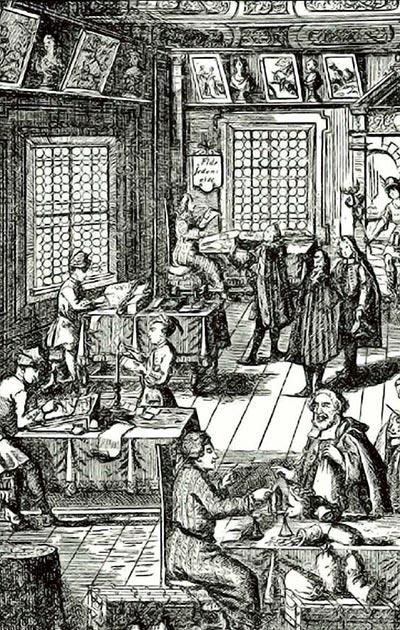 Banküzlet a XVI. században